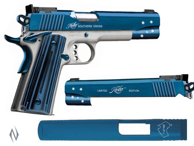 KIMBER 1911 SOUTHERN CROSS LIMITED EDITION 9MM 127MM 1 OF 100