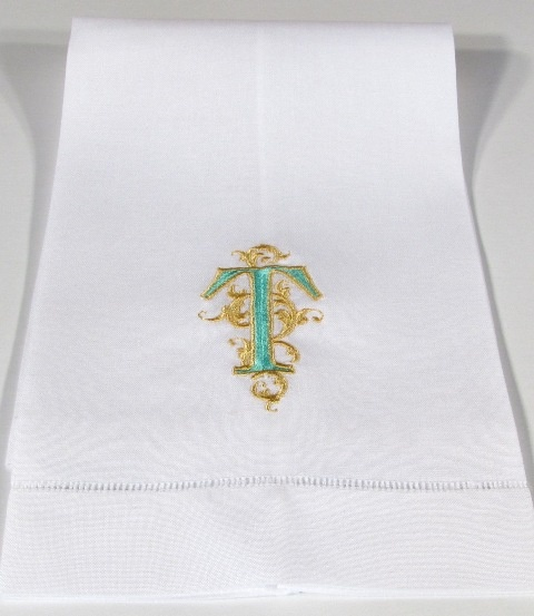 1000  images about monogrammed linen guest towels on pinterest