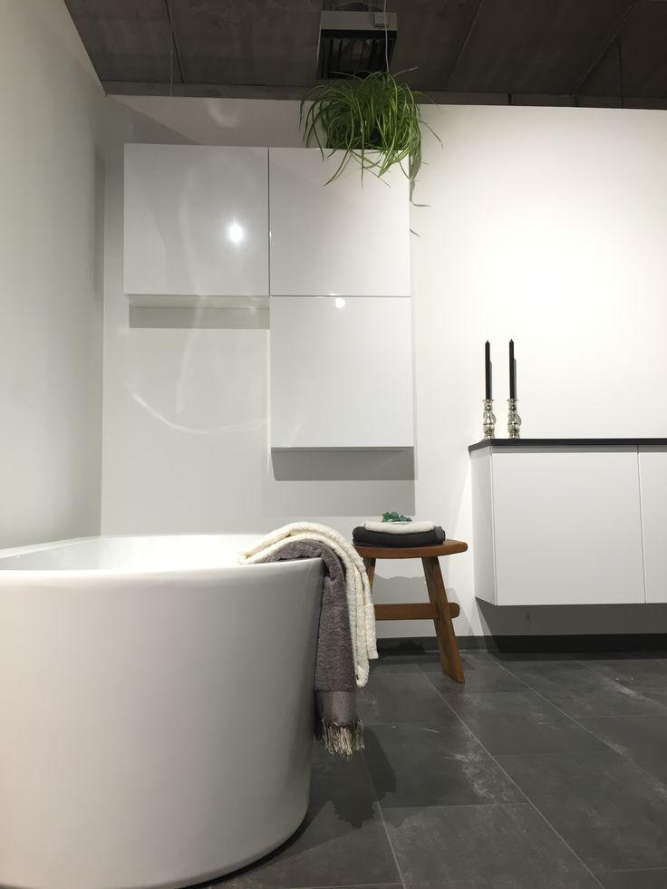 Bathroom inspiration @ Kvik Amsterdam Westpoort in Amsterdam, Noord-Holland