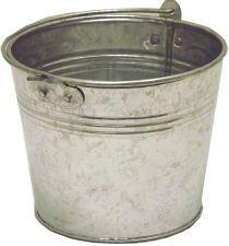 Galvanized Flower Bucket // easter baskets