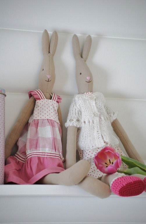 Pastel Maileg Easter Bunnies