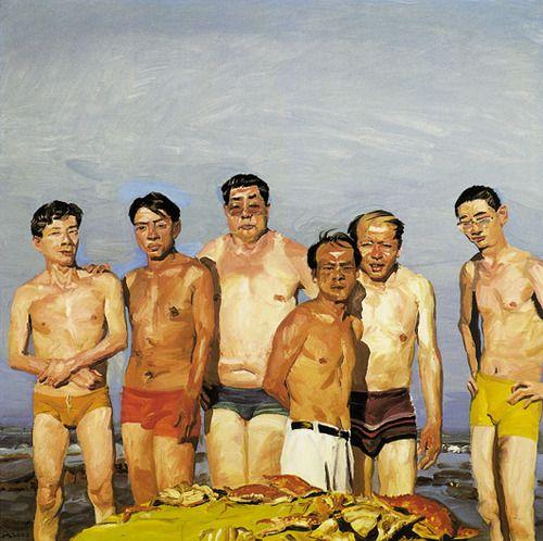 """Liu Xiaodong, """"Fat Grandson"""""""