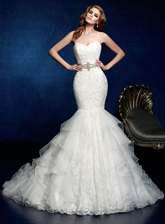 Kitty Chen Wedding Dresses 2014 Bridal Collection. http://www.modwedding.com/2014/02/10/kitty-chen-wedding-dresses-2014-bridal-collection/ #wedding #weddings #fashion