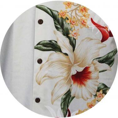 chemise hawaienne ...SIDE FLOWERS