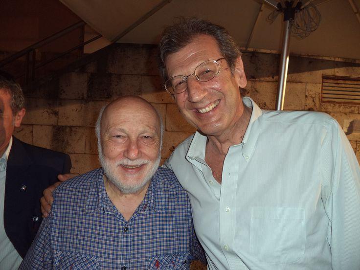 Francesco Durante e Domenico De Masi al Salerno Letteratura Festival 2014