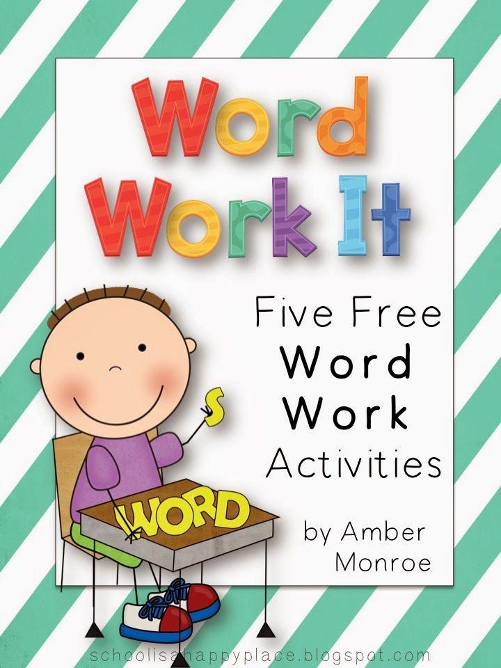 25+ best ideas about Word work activities on Pinterest | Word work ...