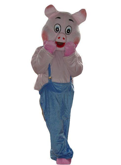 Быстрый заказ застенчивый свинья талисман талисмана костюмы для взрослых размер подарок на день рождения paarty костюм экспресс бесплатная доставка