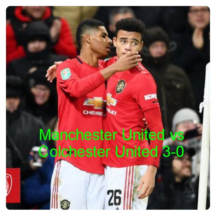 Manchester United Vs Colchester 3 0 Hightlghts Download Video Manchester United Colchester Football Highlight