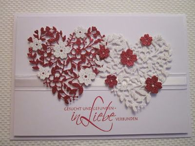 Betty's Papercrafts: Hochzeitskarte
