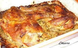 Limara péksége: Töltött csirke
