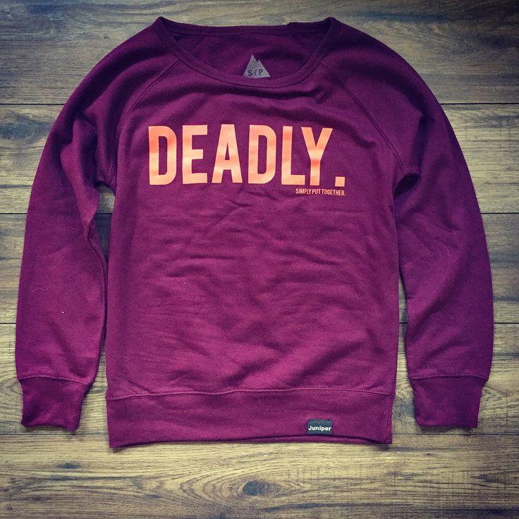 Deadly Women's Crew Neck | Juniper Clothing