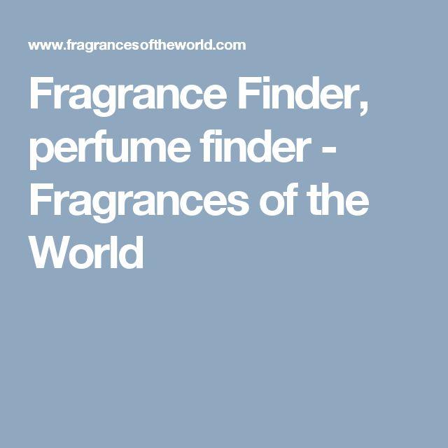 Fragrance Finder, perfume finder - Fragrances of the World