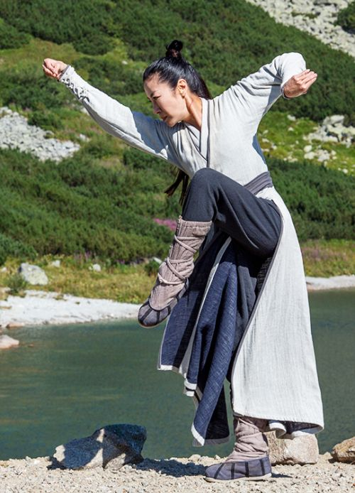 Michelle Yeoh in 'Marco Polo' (2014).