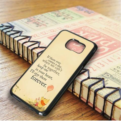 Winnie The Pooh Quote Samsung Galaxy S6 Edge Plus Case