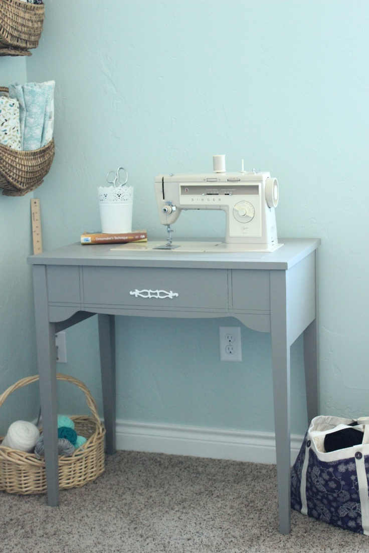Painted Sewing Machine Table 49 best Sewing