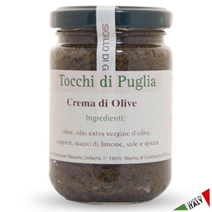 CREMA DI OLIVE GR 140 TOCCHI DI PUGLIA BUONITALY  (070907)