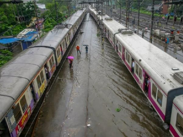 Mumbai rains LIVE updates: Local train services affected