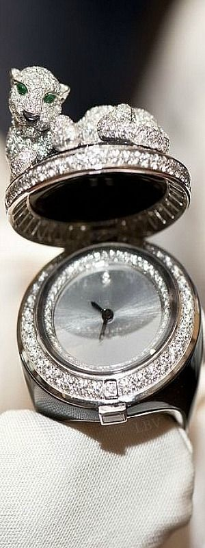 Cartier ♥✤Ladies Watch Ring and beyond
