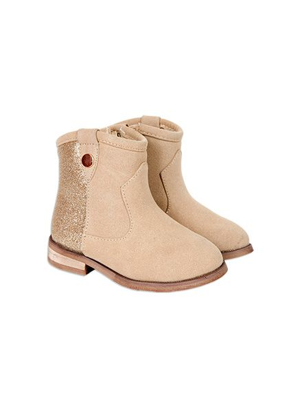 Pumpkin Patch - glitter ankle boot