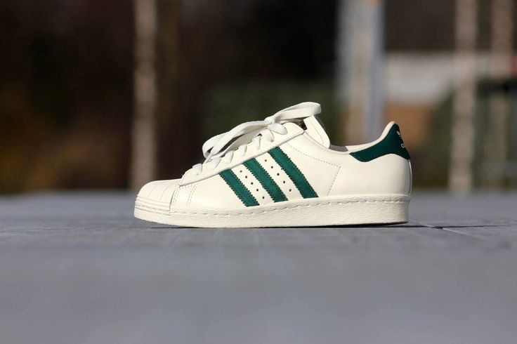 Adidas Superstar White And Green