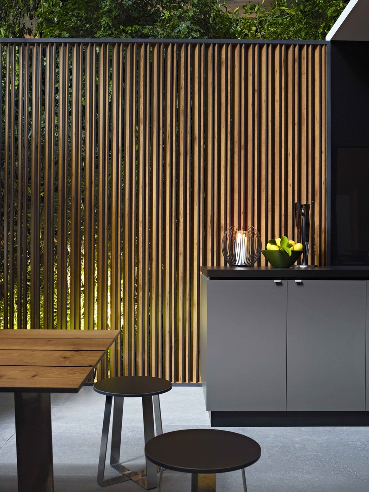 Slat screen. Styling Wendy Bannister. Photography Earl Carter.