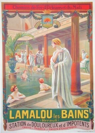 Lamalou les bains ca. 1910Département de l'Héraut, en région Languedoc-Roussillon