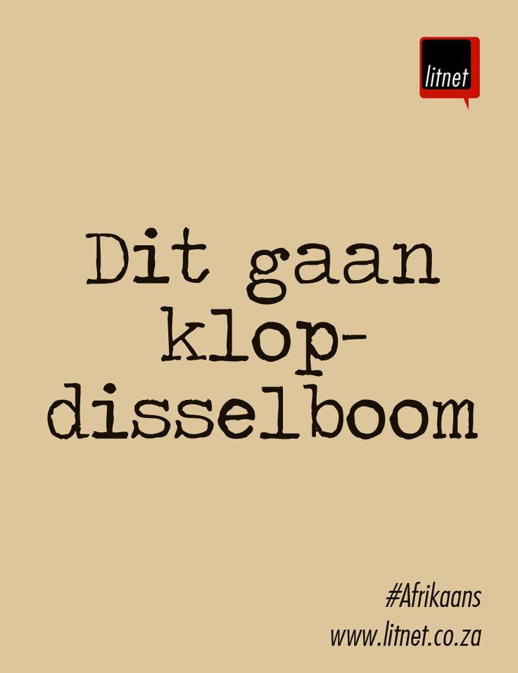 Afrikaanse Idiome & Uitdrukkings  #litnet