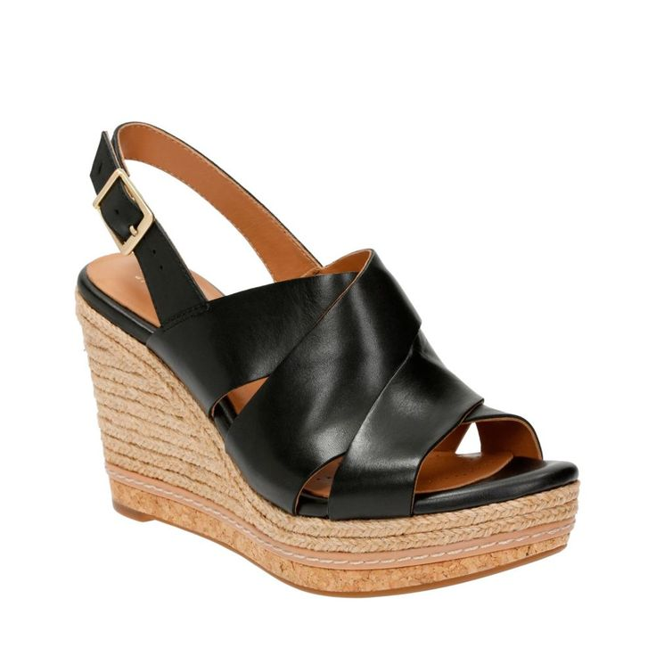 Clarks® 'Amelia Daily' Platform Wedge Sandal (Women) available at