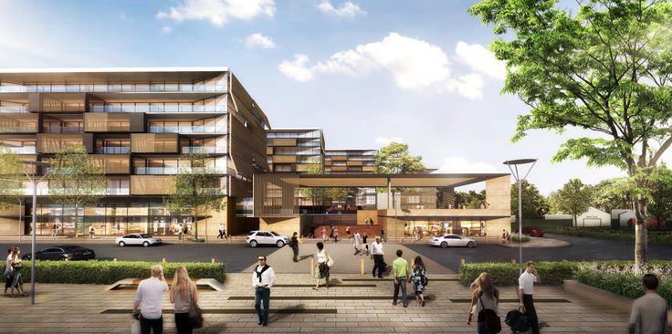 Castlehill Showground Apartments Winner Urban Growth design competition
