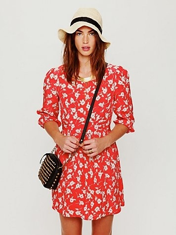 Free People Super Cool Girl Fit-N-Flare Dress at Free People Clothing Boutique - StyleSays