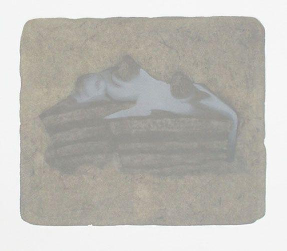 MOMENT '15-11  安井良尚 Yoshihsa Yasui <Lithography(1 stone plate) 25,2×30,0cm Izumi paper 2015>
