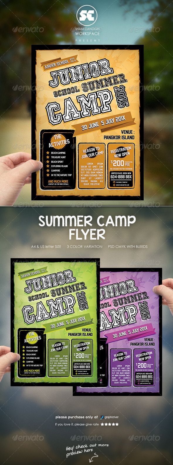 Best Events Images On   Flyer Template Booklet
