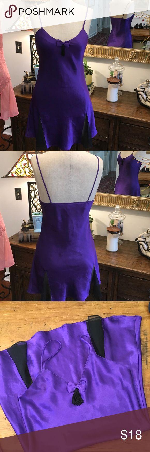 VS VINTAGE Purple nighty vintage by Victoria's secret size small petite Victoria's Secret Intimates & Sleepwear Pajamas