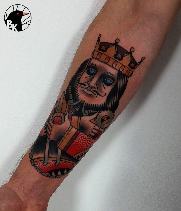 King of Bikes by Bartek Kos Tattoo  https://www.instagram.com/bk_tats/