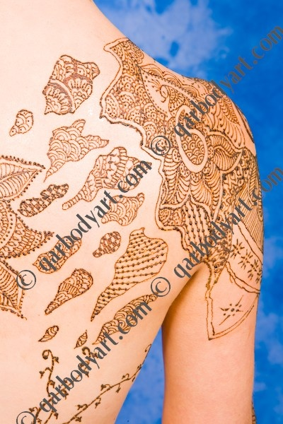 I would loooove a henna inspired shoulder piece.