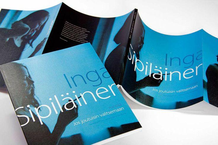 Inga Sipiläinen - book design.   Intro Design.