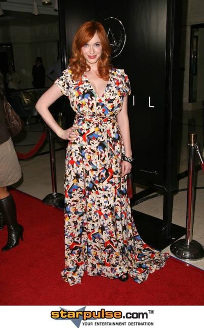 Christina Hendricks ... love this dress