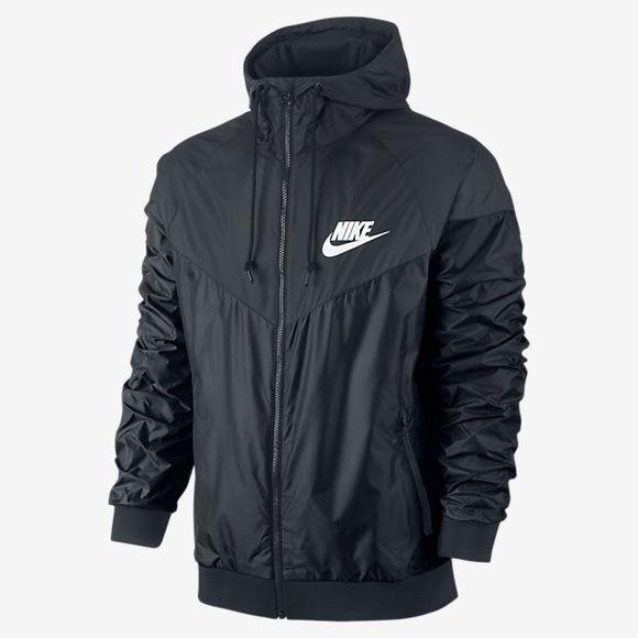 Nike Wind Runner Black Brand new Nike Wind Runner Men's SMALL fits women's small (: *selling for $75 on ♏️ercari* Nike Jackets & Coats