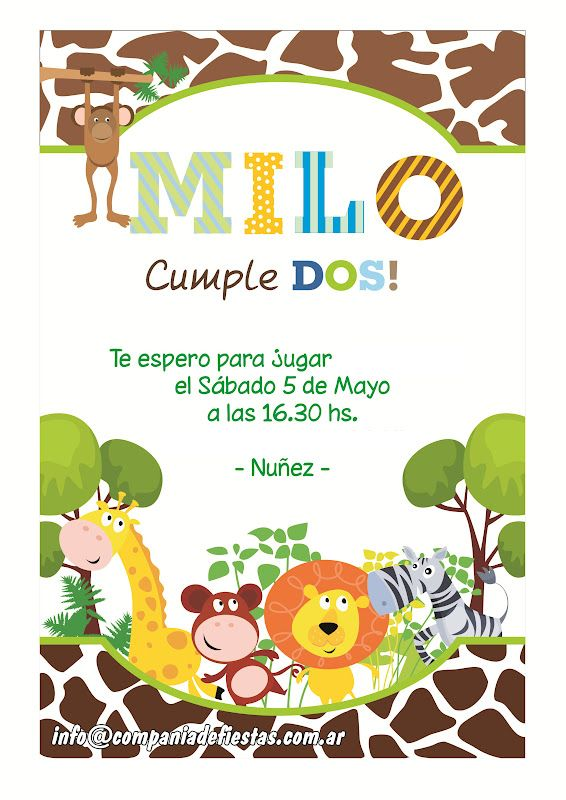 The 25 best invitaciones para bautismo ideas on pinterest - Ideas para cumpleanos infantiles ...
