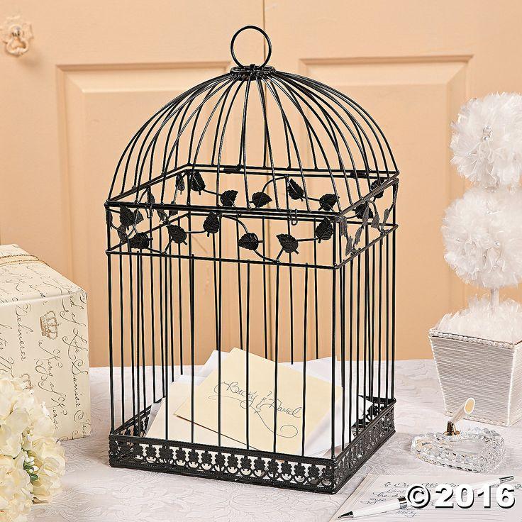 Wedding Gift Card Birdcage : birdcage card holder wedding birdcage wedding wedding gift tables ...