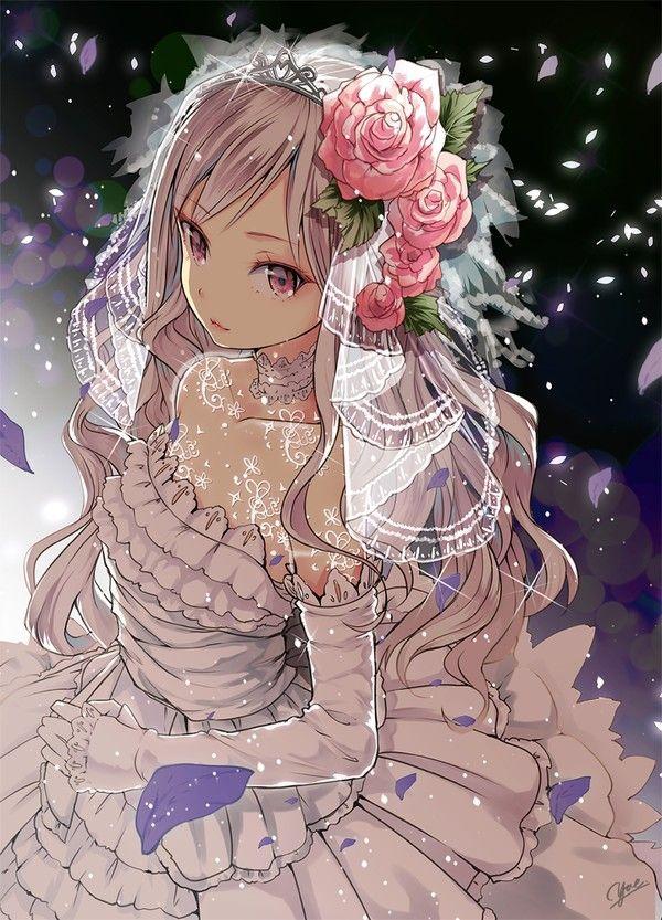 #Dessin fille mariage par yae #Manga