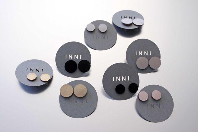 Pallo earrings by Inni Pärnänen