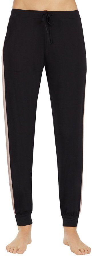 DKNY Donna Karan Jersey Jogger Sleep Pants