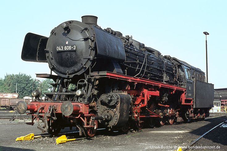 The Federal Railways Time - There was also clean oil-locomotives in Emsland