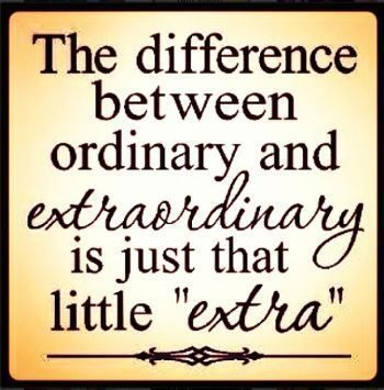 Motivational Quotes     QUOTATION – Image :     Quotes about Motivation – Description  the difference between ordinary and extraordinary  Sharing is Caring – Hey can you Share this Quote !