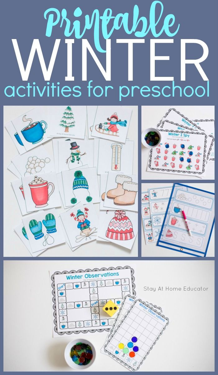 6 Snowy Printable Winter Activities For Preschoolers Winter Activities Preschool Preschool Circle Time Activities Preschool Activities [ 1200 x 700 Pixel ]