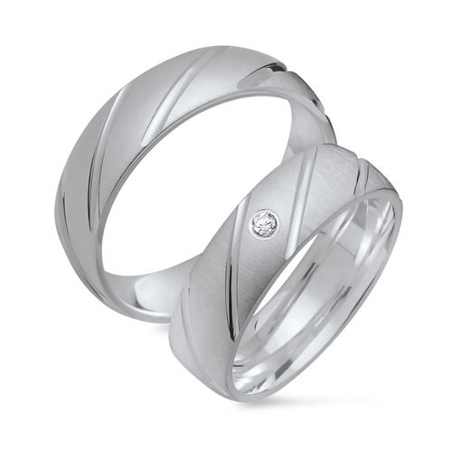 Trauringe Silber Eheringe 925 Gravur Zirkonia R8506s https://www.thejewellershop.com/ #trauringe #eheringe #silber #zirkonia #silber #silver #jewelry #ringe #schmuck