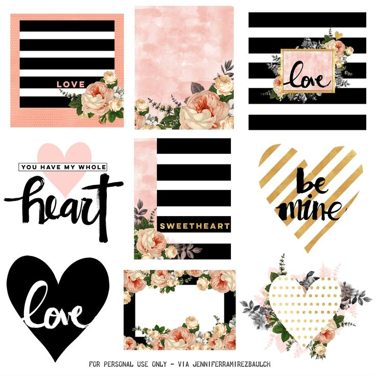 Free Printable Planner Stickers for Valentine's Day! — Steemit