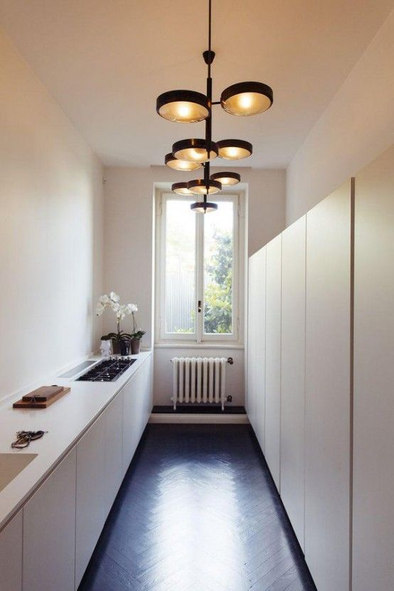 small narrow kitchen design ideas Best 25+ Long narrow kitchen ideas on Pinterest | Narrow kitchen with island, Small island and