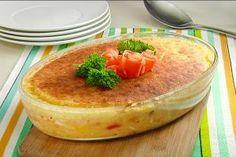 Pastel de pollo con vegetales